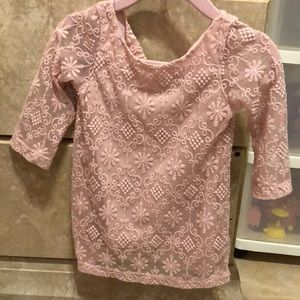 Genuine kids by OshKosh lace dress with lining.